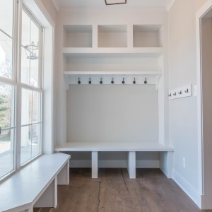 Cubbies and Built-Ins Photos. Custom Home Builder