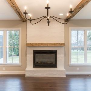 Fireplaces Photos. Custom Home Builder