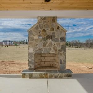 Outdoors Photos. Custom Home Builder